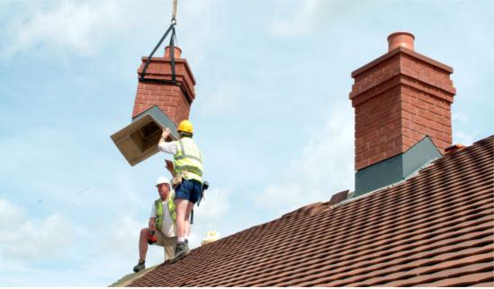 Banbury Innovations Lightweight Grp Chimneys