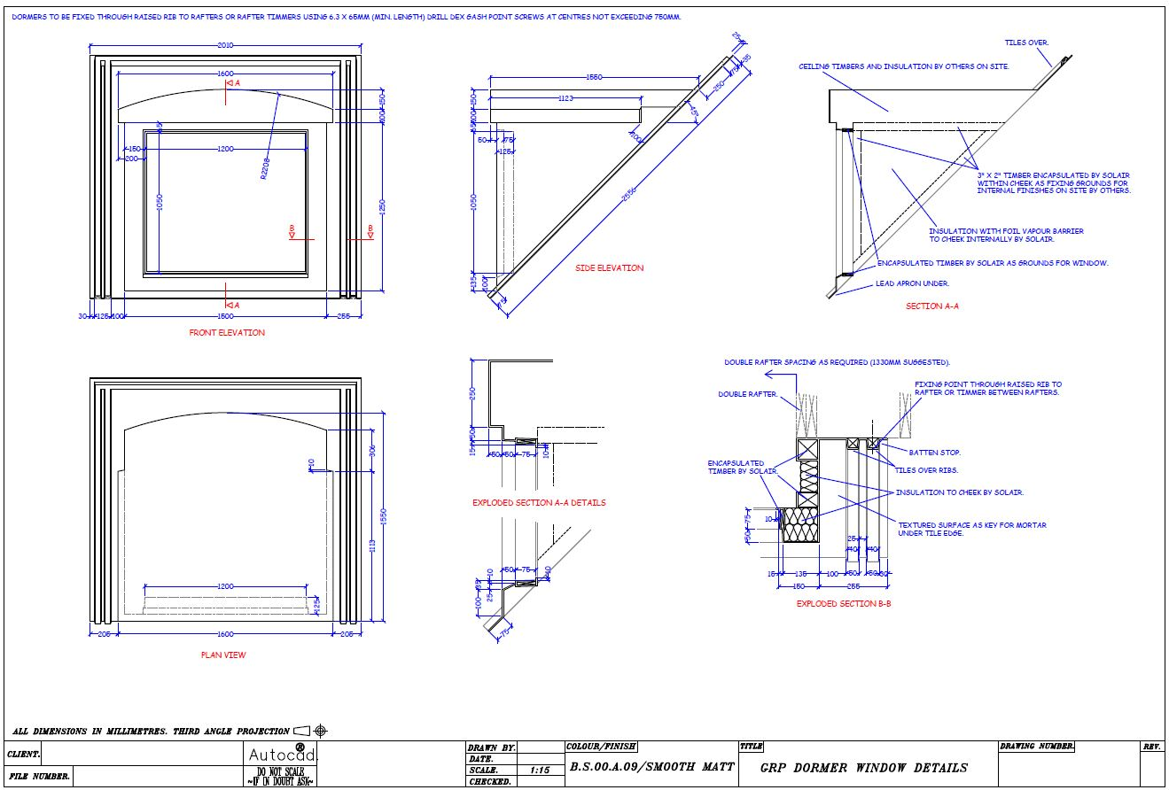 Dormer window design dormer window design home design for Dormer window construction drawings