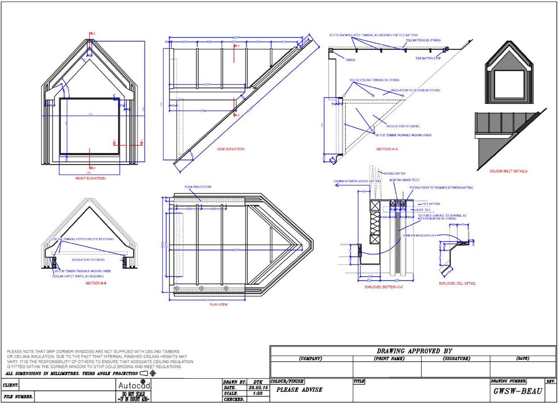 Banbury Innovations Fibreglass Grp Dormers