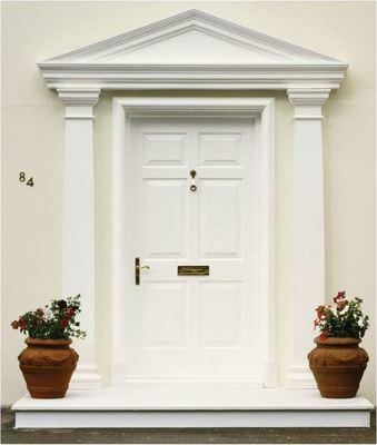 Fibreglass door surrounds