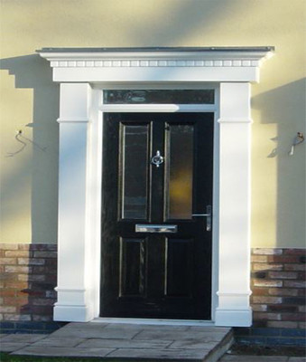 Edwardian Door Surround & Banbury GRP Door Surrounds - Edwardian