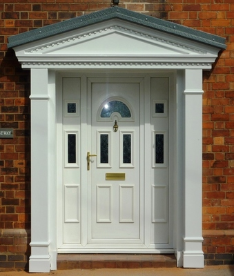 Victorian Portico Door Surround : portico door - pezcame.com