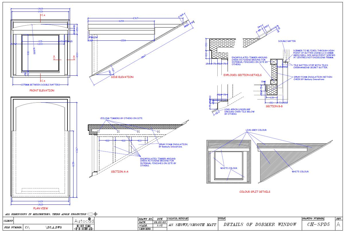 Dormer window detail podcast dormer window at roof valley for Dormer window construction drawings
